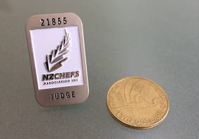 NZChefs Judges Pin