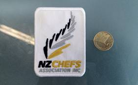 NZChefs Cloth Badge